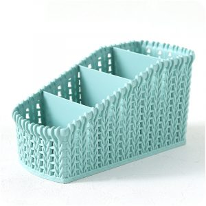 Cosmetic Storage Baskets Office Kitchen Desktop Storage Consolidation Box Parts Storge