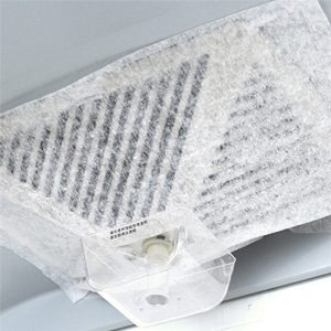 2 st Universal non-woven Kitchen Hood Filter Oljeabsorberande papper Anti Oil Cotton Hood Filters för spis Extractor Fan