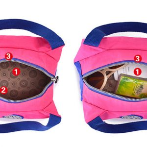 Fashion Portable Insulated Polyester lunch Bag Thermal Food Picnic Lunch Bags
