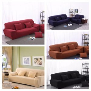 4 Sits soffa täck Slipcover Stretch Elastisk soffa möbler Protector Stol skydd
