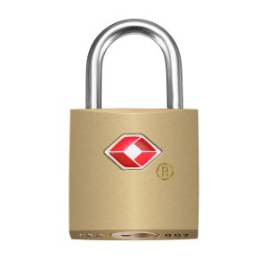 KCASA LK-31 TSA Approved Padlock Travel Security Luggage Solid Brass Key Lock