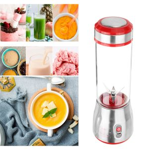 500ml 6 Blade Mini Portable USB Electric Fruit Juicer Blending Machine Juice Maker Juice Shaker