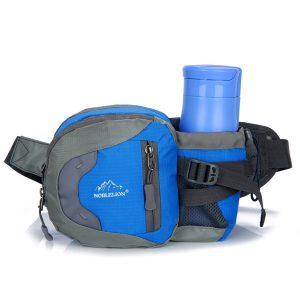 KCASA KC-BC06 Running Sport Cycling Waist Water Bottle Carrier Belt Bag Travel Phone Kettle Holder