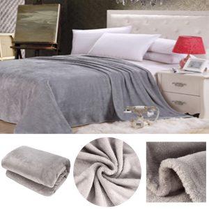 250230cm varma filtar dubbelsidig mjuk matta plysch fleece soffa sängkastning