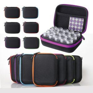 15 Solts Diamantmålning Box Embroidery Case Organizer Förvaring Tillbehör Verktygsdelar Förvaringsbox