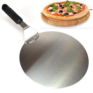 Kitchen Craft Large Sturdy 10''  Round Stainless Steel Shovel Cake Slice Lifter
