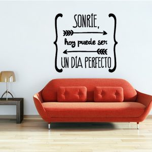 55x50cm Spanish Quote Poster Wall Stickers Birds Letterings Wall Decals Home Decoration