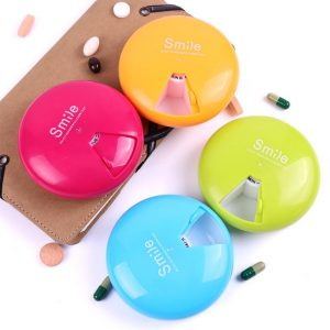 7 Days Weekly Pill Box Travel Pill Case Dispenser Outdoor Mini Pill Box Health Products Jewelry Storage Box Pill Case