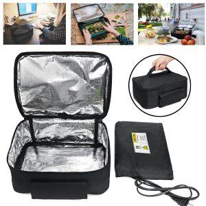 110V Elektrisk Mini Portabel Lunchväska Ugn Omedelbar Matvärmare Uppvärmning varmare