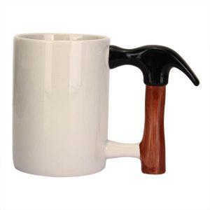 Kreativ keramisk hammarkopp Unik hammaresdesig kaffe kopp kaffe kopp