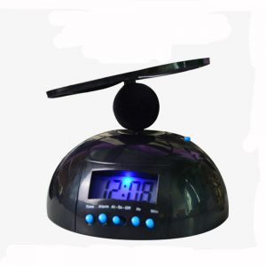 Home Decor Creative Clock Digital Crazy Annoying Flying Helicopter Alarm Clock