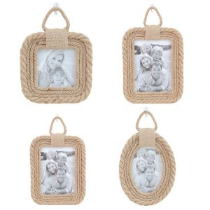 Twine Vintage Photo Frame Home Decor Wedding Hemp Rope Pictures Frames Accessories