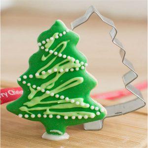 Rostfritt stål julgran Cookie Cutter Mögel