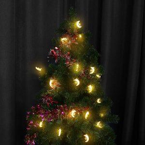 30 lysdioder Solstränglampor Trädgård utomhuslampa Gift Decor 6,5 m vattentät dekorljus