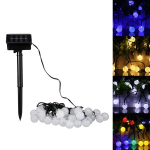 30 LED solkraft jul fe string ljus party utomhus uteplats dekor lampa