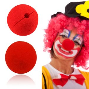 Cute Clown Nose Red Sponge Nose Sponge Ball Red Clown Magic Nose for Halloween Party Decorations