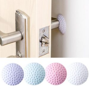 Rubber Door Knob Mute Self Adhesive Elastic Stickers Crash Buffer Wall Protector Stickers