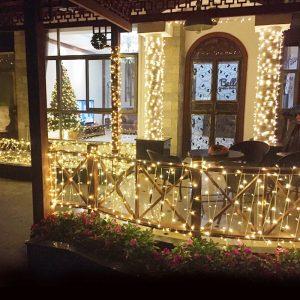 100LED Solar Led string light RGB single color Decoration Light for Christmas Garden light Holiday Outdoor Fairy  String Light for Outdoor Wedding Party Seasonal Decorations