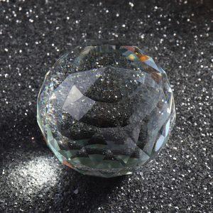 Klara kristaller Kula K9 Cut Sphere Prisms Glass Ball Decor Crafts Presents 25-80mm