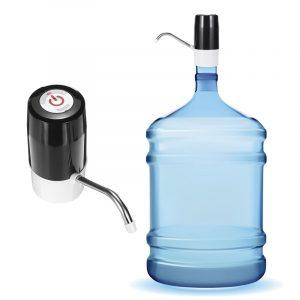 Trådlös automatisk elektrisk USB-vattenpumpdispenser Gallon Dricksvattenflaskomkopplare