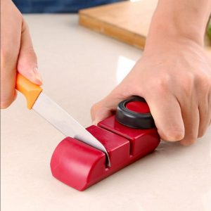 KCASA KC-KS01 Portable Camping 2 Stage Mini Kitchen Knife Sharpener Grinder Sharpening Tool