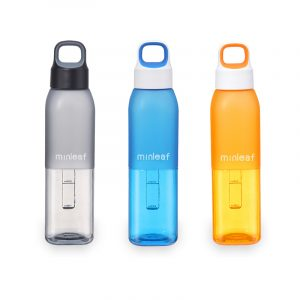 550ml Large Capacity Portable Outdoor Sport Light Weight Safe Plastic Water Bottle Cup