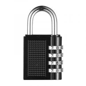 KCASA LK-22L Travel Luggage Locks 4 Digit  Combination Password Suitcase Locks Padlocks
