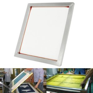 "24""x20"" Aluminum Silk Screen Printing Press Screens Frame Photo Frame with 110 Mesh Count"