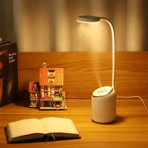 DIGOO DG-TD09 2W 280ML USB Charing Table Lamp Humidifier Bedroom Night Light 360° Adjustment Air Humidifier