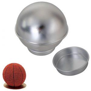 Kreativ 3D-sportbollformad tårtuppsättning för kakpanna