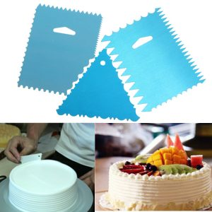 Fondant Cake Pizza Side Scraper Cutter