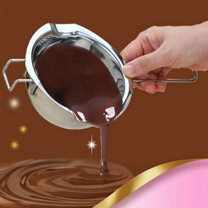 304 Stainless Steel Chocolate Water-resisting Pot Butter Heated Bowl