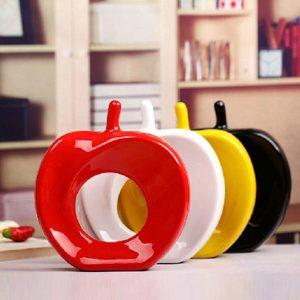 Ceramics Home Furnishing Decor Apple Wedding Gifts Christmas Gift