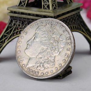 COPY Morgan Queen Coin Commemorative Old Coin Imitation Foreign Currency