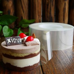 DIY Mousse Cake Transparent Membrane Baking Surrounding Edge Tape Perimeter
