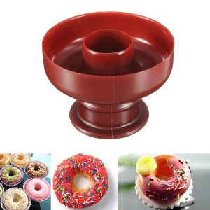 DIY Donut Maker Cutter Mold Fondant Cake Bread Desserts Bakery Mould Tool