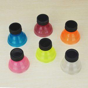 6st Creative Soda Savers Toppers Återanvändbara flaskor kan konverteras