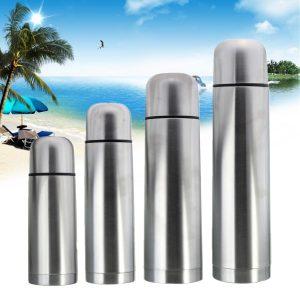 350/500/750/1000 ml rostfritt vakuumkoppflaska Underhåll varm resehuslagring varmvattenflaska