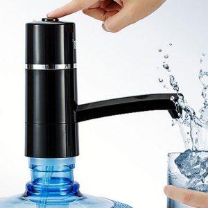 KCASA KC-EWP02 Elektrisk vattenflaskpumpdispenser Uppladdningsbar dricksvattenflaskor sugningsenhet Beröringssensor Vattendispenser