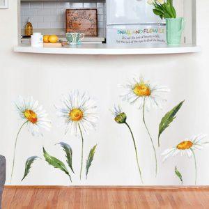 Miico FX64042 Sun Flower Wall Sticker Kindergarten Children's Room Decoration Stickers DIY Sticker