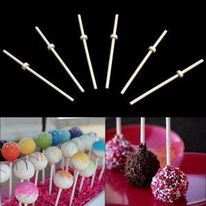 Food Sucker Lollipop Sticks Sweet Cake Candy Cookie Chocolate Making Tool