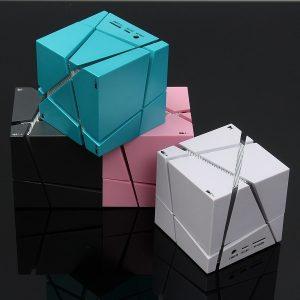 Ljus i flera färger Creative Portable Fashion bluetooth trådlöst stereo sovrumsljus