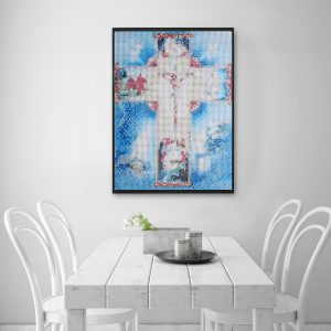 5D Diamond Painting Jesus Christ Religious Cross Stitch Kit DIY Craft Home Decor