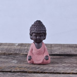 Ceramic Monk Tea Spoil Young Monk Buddha Elder Brother Kiln Ceramic Creative Furnishing Decorations
