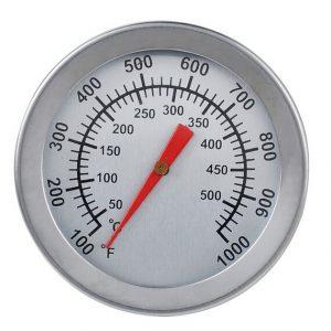 Rostfritt stål BBQ Grill rökare termometer spår grill matlagning grill verktyg BBQ termometer