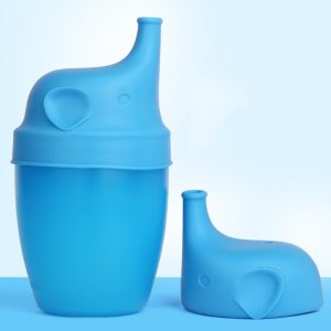 Silicone Cup Lids for Baby Drinking Convers Suitable For Any Cup or Glass Cup Makes Drinks Spillproof
