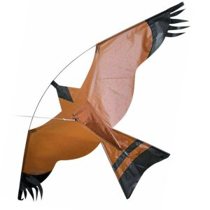 Emulation Flying Hawk Kite Bird Scarer For Garden Scarecrow Yard House Home Decorations