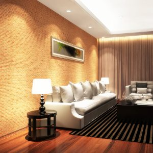 10M 3D Wallpaper Roll Vintage Effect Natural Embossed Stack Stone Brick Vinyl Wall Art Wallpaper