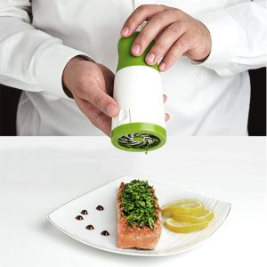 Spice Herb Mill Grinder Cutter Vegetable Fruit Shredder Kitchen Cooking Tool