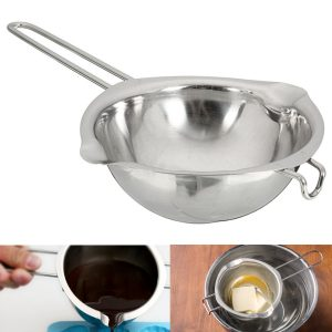 11cm Stainless Steel Chocolate Butter Melting Pot Pan Kitchen Milk Bowl Boiler